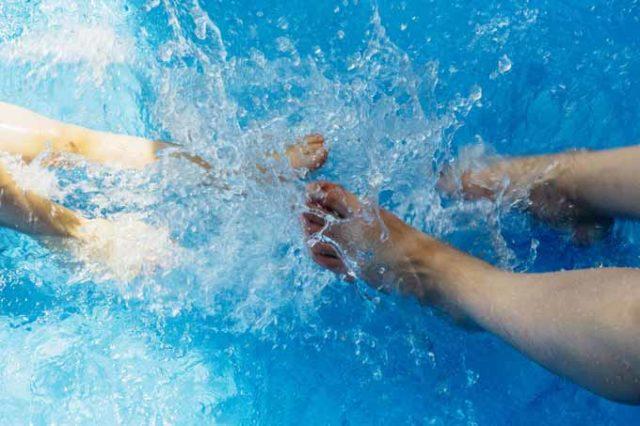 aufblasbare Whirlpools